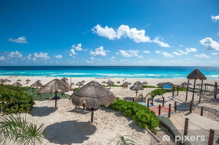 Cancun Vacation Mexico Beach Vinyl Sticker Decal Car Laptop Window Wall