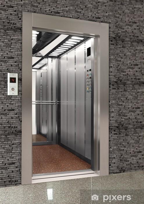 Carta da parati ascensore pixers viviamo per il for Carta parati vinile
