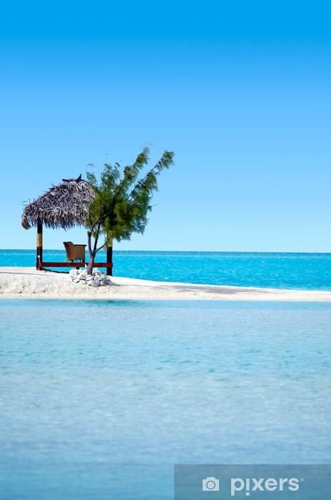 Fototapeta winylowa Krajobraz Arutanga wyspie Aitutaki Lagoon Wyspy Cooka - Oceania