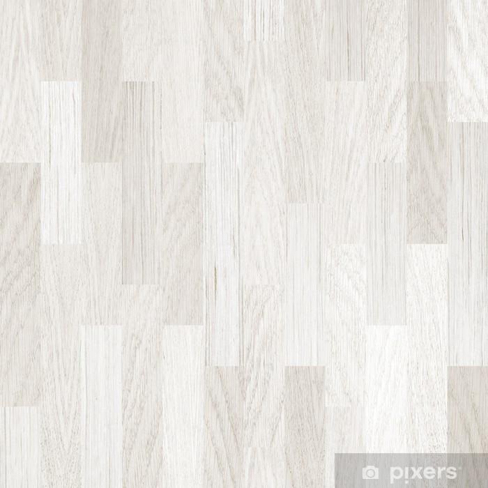 Favoloso Adesivo Pavimento in parquet in legno bianco • Pixers® - Viviamo IP85