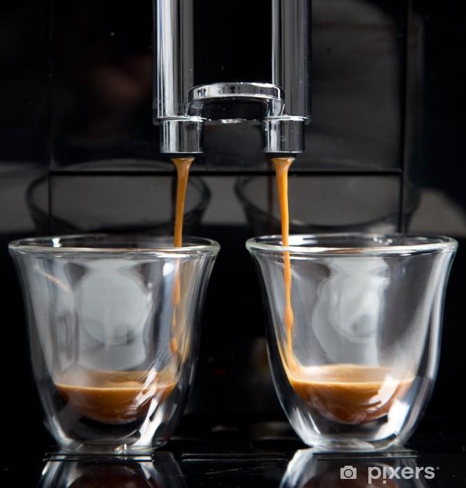 Vinyl-Fototapete Espresso - Gerichte