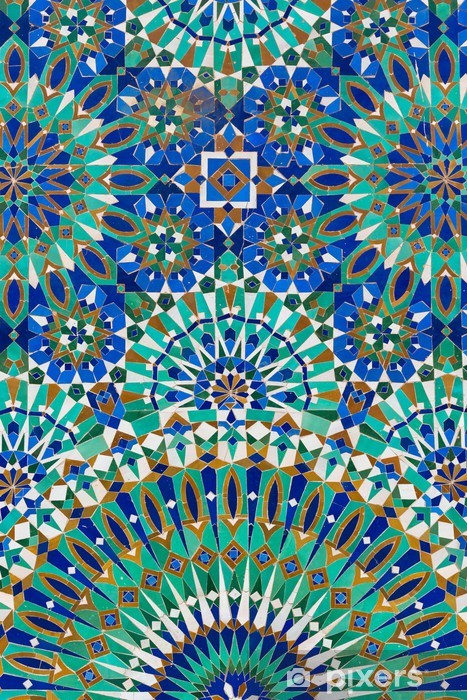 Moroccan decoration Vinyl Wall Mural - iStaging