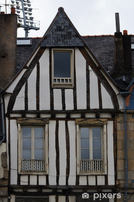 Papier peint Vieille maison à colombage à Vannes • Pixers®   Nous