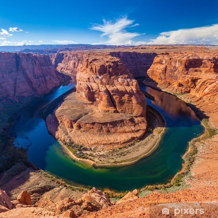 Pixerstick Sticker Horseshoe Bend Canyon, Arizona - Amerika