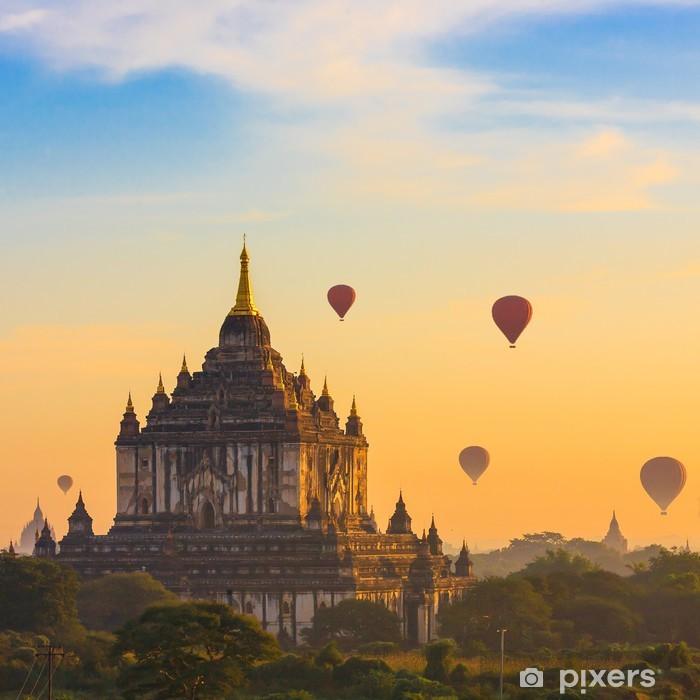 Nálepka Pixerstick Starověkých chrámů v Bagan - Asie
