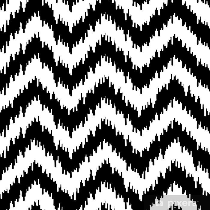 Naklejka Pixerstick Szwu wzór tkaniny w jodełkę - Moda