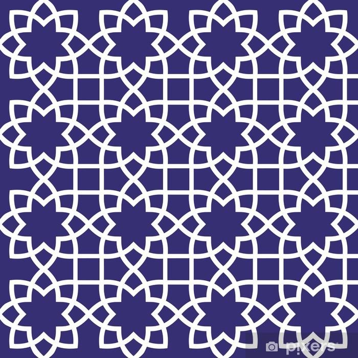 Vinilo Pixerstick Seamless pattern Ornamental - Fondos