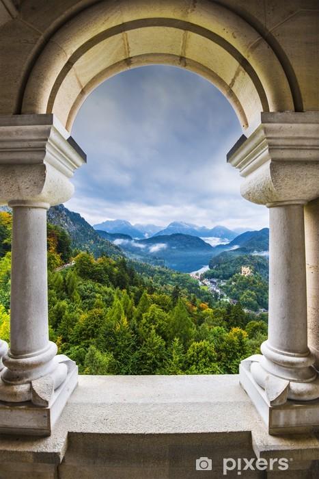 Bavarian Alps View Vinyl Wall Mural - Themes