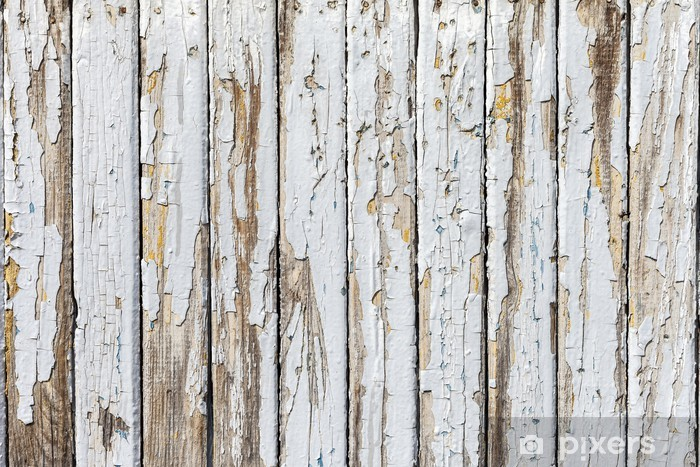 Legno Naturale Bianco : Adesivo sfondo bianco vintage di naturale legno vecchio muro