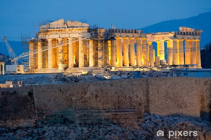 Fotomural Estándar Partenón en la Acrópolis de Atenas - Temas