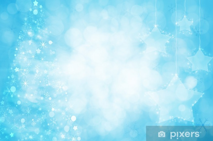 Albero Di Natale Con Decorazioni Blu : Carta da parati natale sfondo con albero di natale e decorazioni