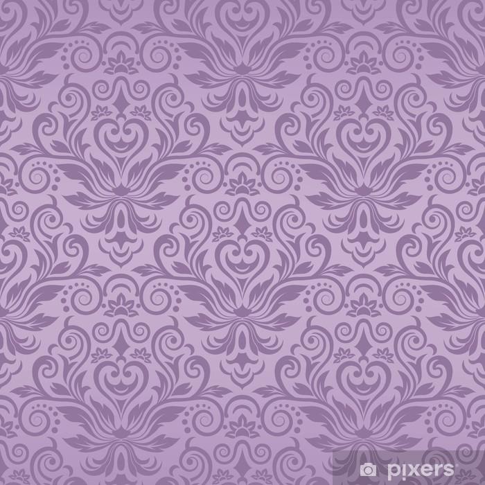 Papier Peint Motif Vintage Transparente En Violet Pixers Nous Vivons Pour Changer