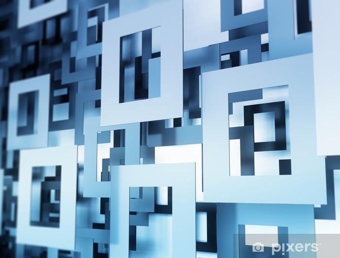 Fototapeta samoprzylepna Abstract 3D geometryczny wzór - Koncepcje biznesowe