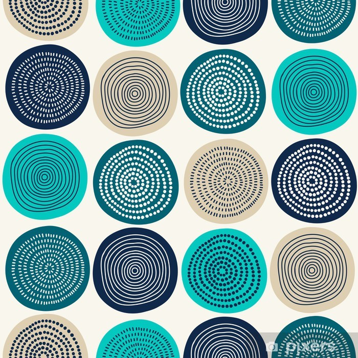 Abstract pattern Vinyl Wall Mural - Styles