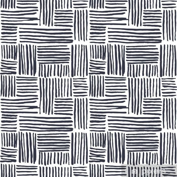 Vinil Duvar Resmi Dikişsiz elle çizilmiş desen - Arka plan
