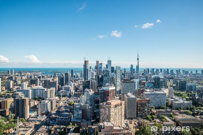 Nálepka Pixerstick Malebný pohled na centrální Toronto - Témata