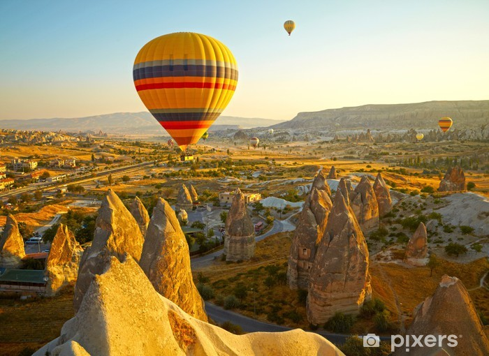 Adesivo Pixerstick Cappadocia, Turchia - Medio Oriente