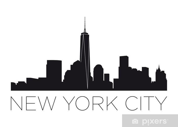 Fototapeta winylowa New York City Manhattan - Naklejki na ścianę