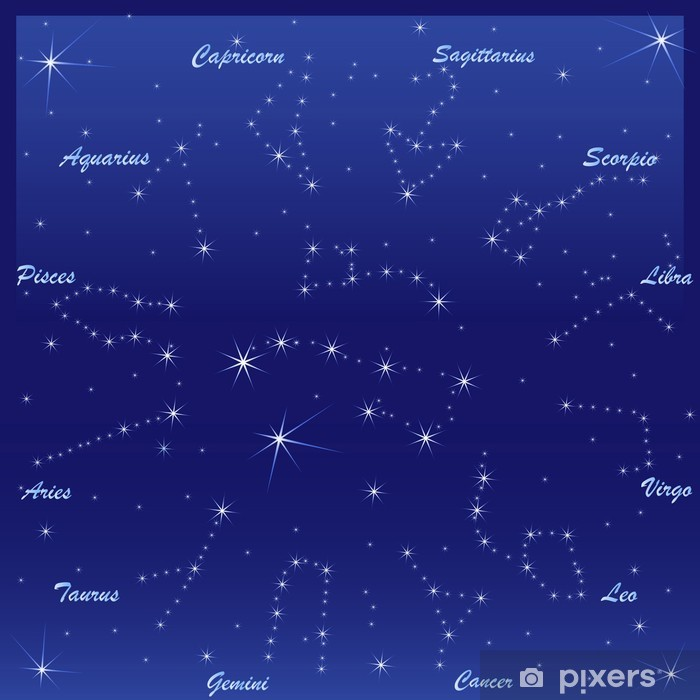 Zodiac signs Poster - Esoteric