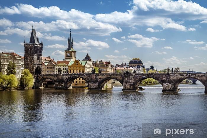 Fototapeta winylowa Praga, Most Karola (Karluv Most) - Praga