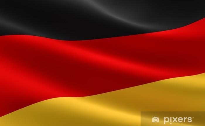 fotobehang duitse vlag - duitsland vlag • pixers® - we leven om te