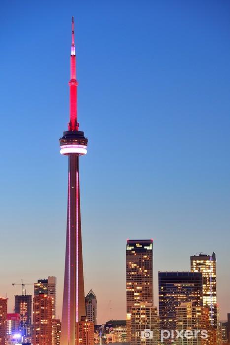 Mural de Parede Autoadesivo CN Tower Toronto - Outros