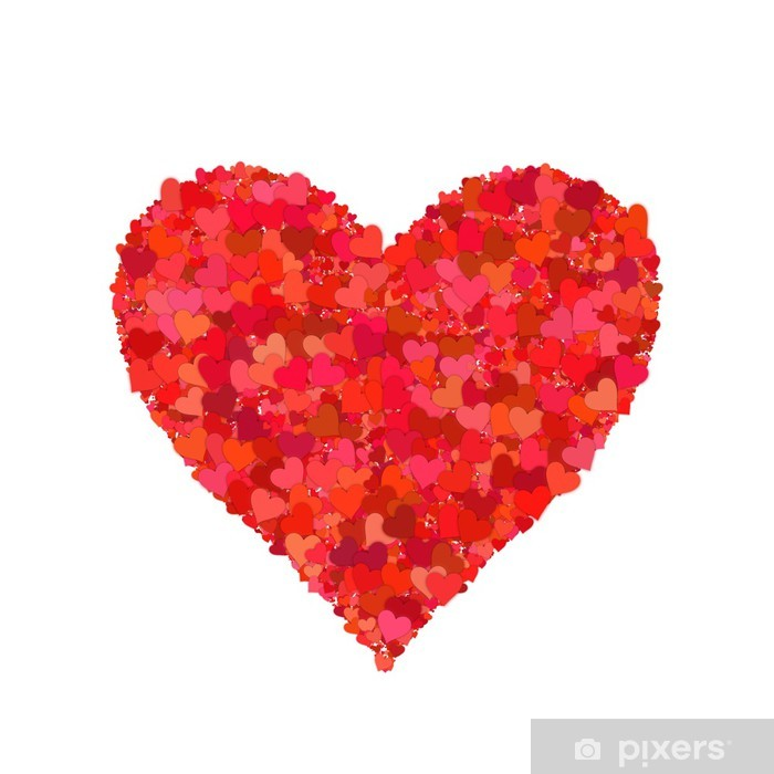 Heart shape, hearts Poster - International Celebrations