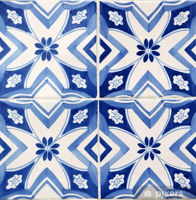 Papier peint vinyle Carrelage traditionnel de Porto, Portugal - iStaging