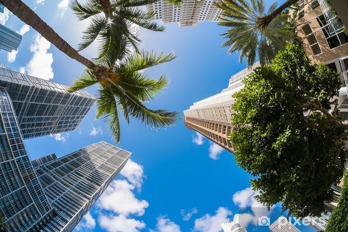 Pixerstick Aufkleber Downtown Miami - Amerika