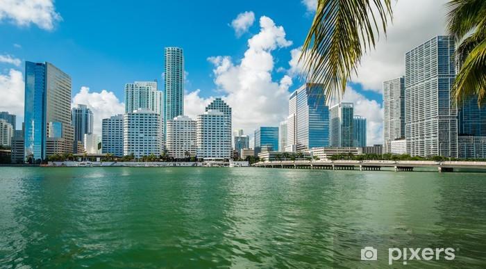 Fototapeta winylowa Centrum Miami - Ameryka