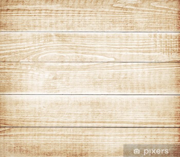 Plakát Hnědá dřevěná prkna textura - Témata