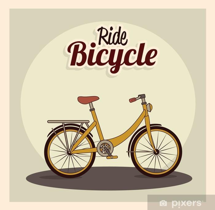 Aufkleber Fahrrad Design Pixerstick