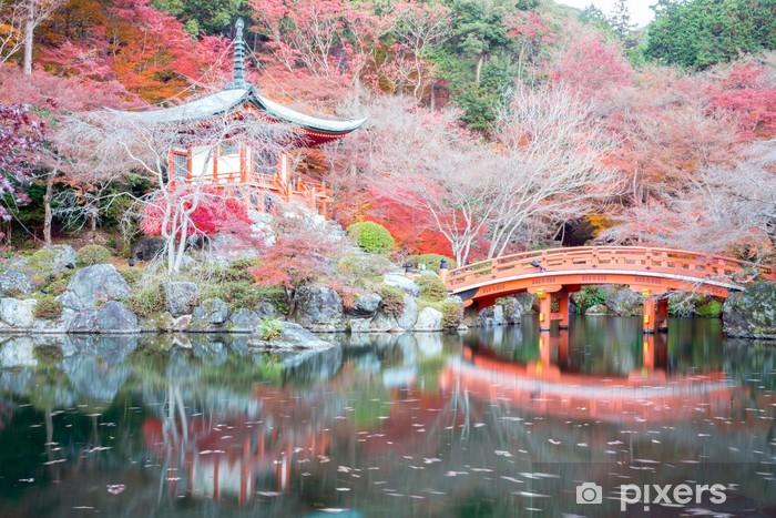 Papier peint vinyle Daigoji Temple Kyoto Japon - Japon