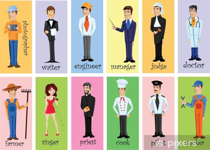 Autocolante Pixerstick Personagens De Desenhos Animados De