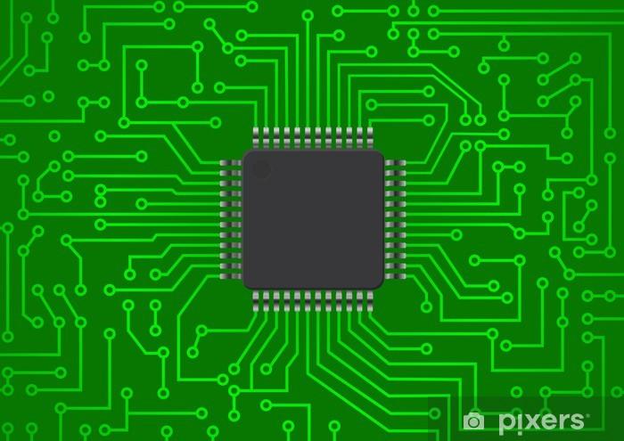 Pixerstick Aufkleber Elektronische Chip - Elektronik