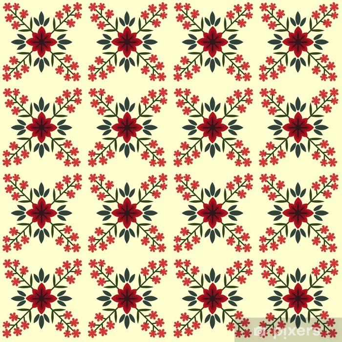 Pixerstick Sticker Naadloze patroon - Achtergrond