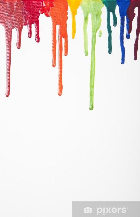 Sticker Pixerstick Émail Résumé Splash - Art et création