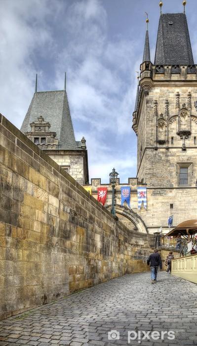 Nálepka Pixerstick Středověké ulice - Infrastruktura