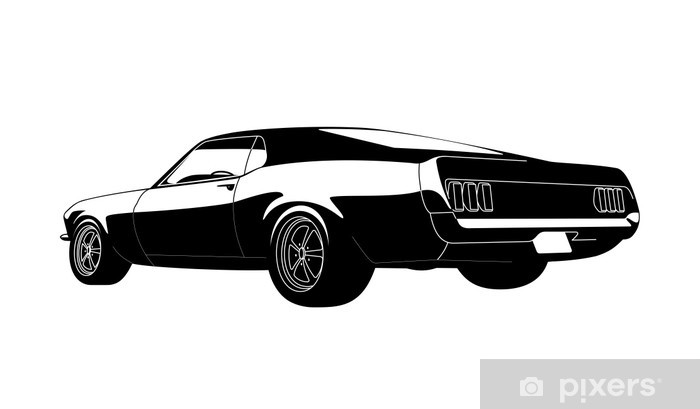 Muscle Car Sticker Pixers We Live To Change