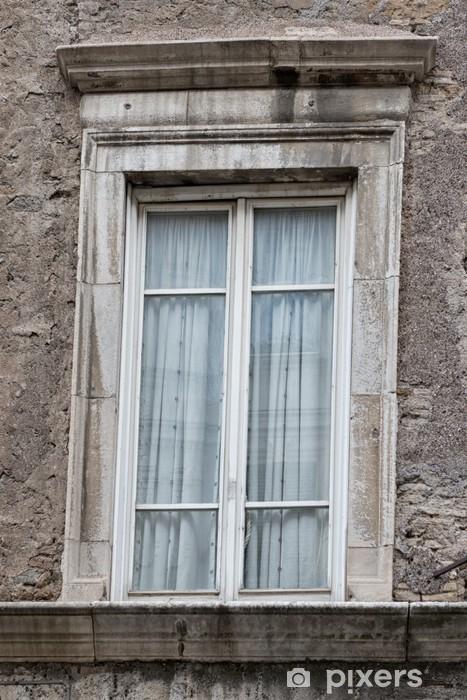 Naklejka Pixerstick Rzym stare okno - Budynki prywatne