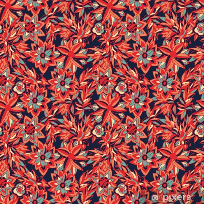 Vinyl-Fototapete Blumen - Texturen