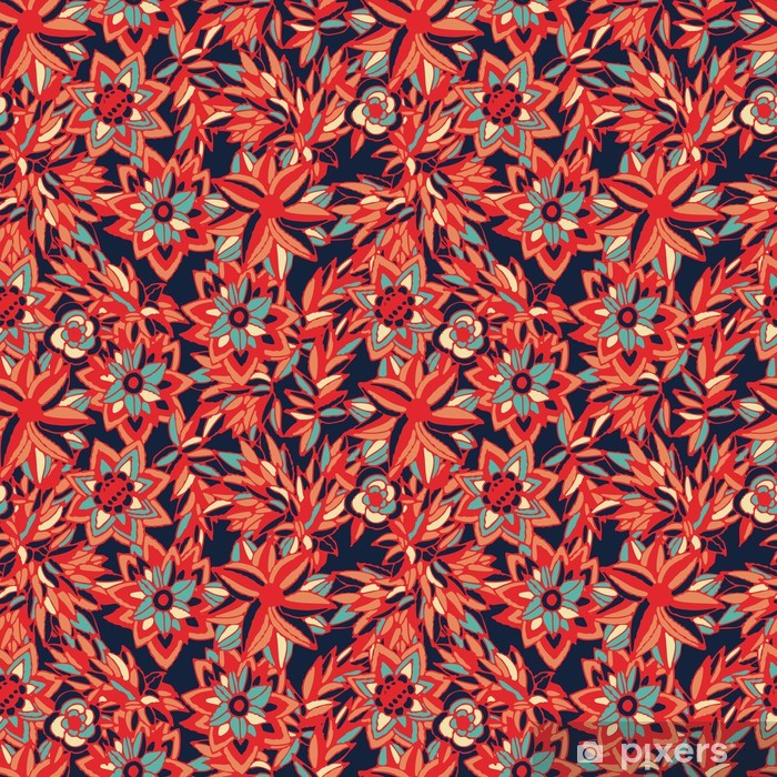 Poster Blumen - Texturen