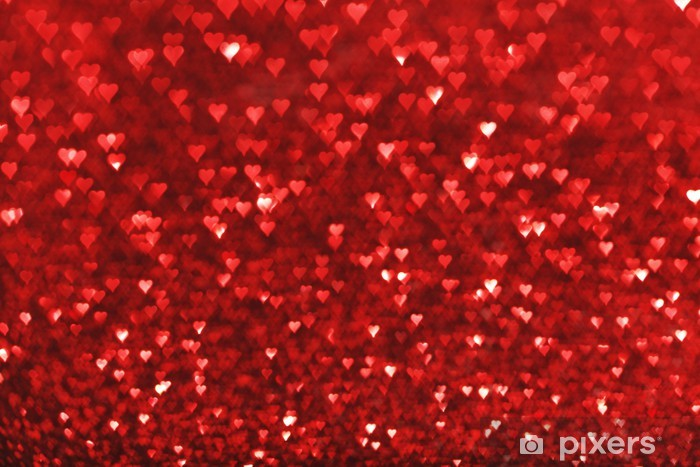 Red Glitter Background Wall Mural Pixers 174 We Live To