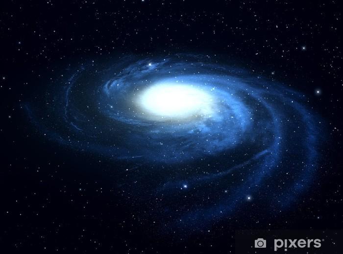 Papier Peint Autocollant Galaxie Spirale Dans Lespace Profond