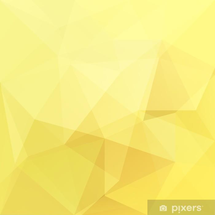 Plakat Trójkąt abstrakcyjne tła, wektor - Sztuka i twórczość