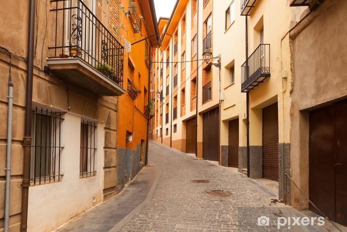 Papier peint vinyle Rue dans la ville de l'espagnol à jour. Teruel - Europe