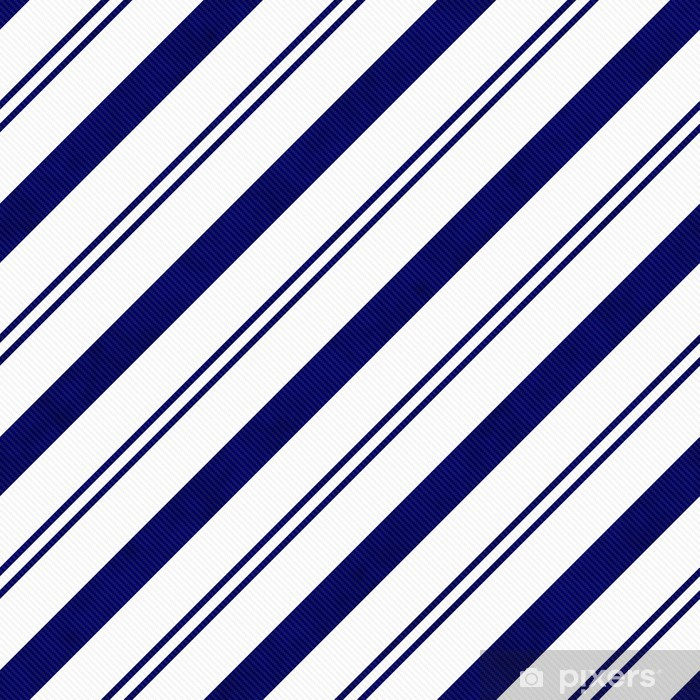Adesivo Sfondo Blu Navy A Strisce Diagonale Tessuto Tessuto Pixers