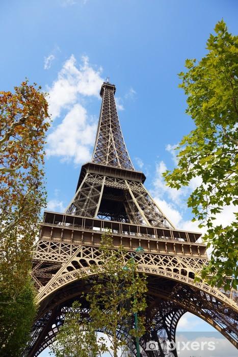 Papier peint vinyle Eiffel tower paris france - Thèmes