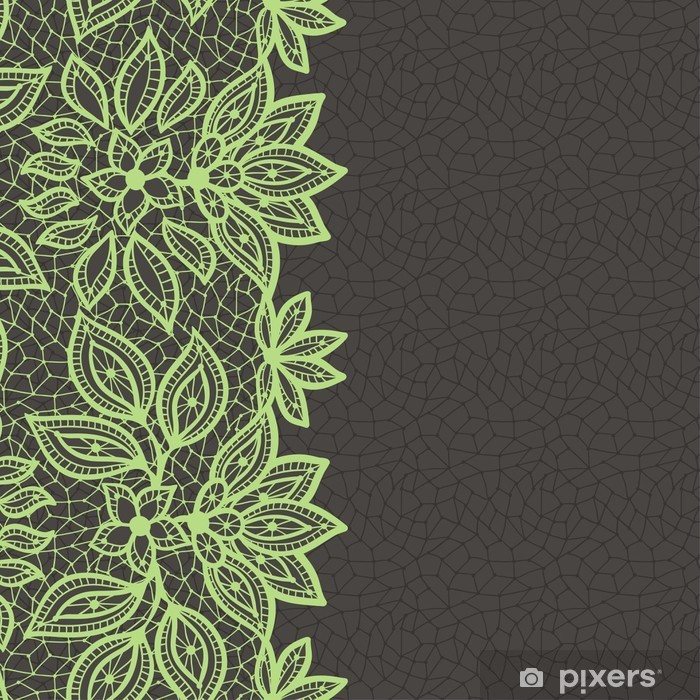 Vintage Lace Background, Abstract Ornament. Vector Texture. Pixerstick  Sticker   Greeting Cards
