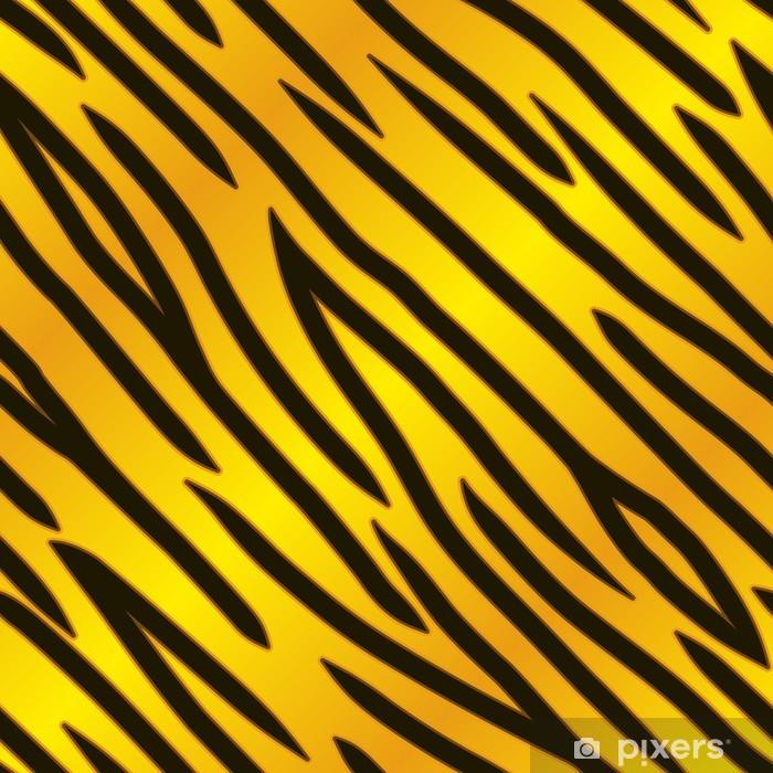 Plakat Złoto Tiger Drukuj - Tła